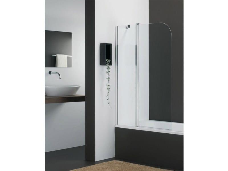 Glass bathtub wall panel VARIO KV - Provex Industrie