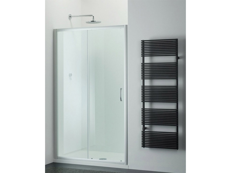Glass shower cabin with sliding door ARCO AN - Provex Industrie