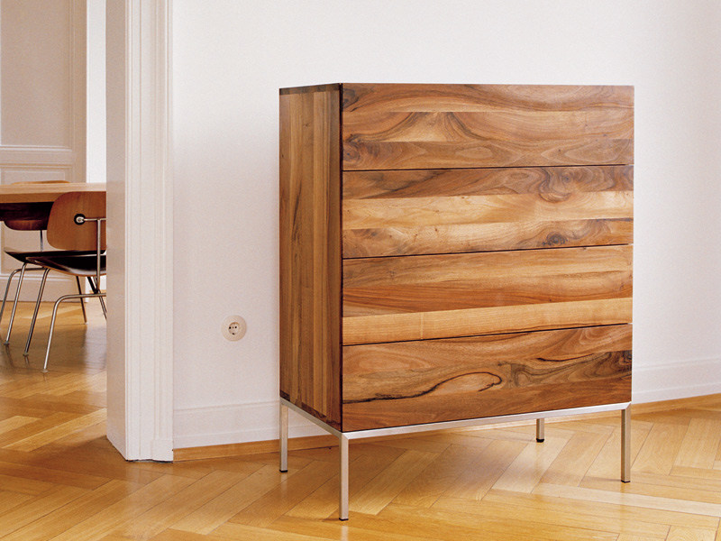Free standing wooden chest of drawers FATIMA by e15