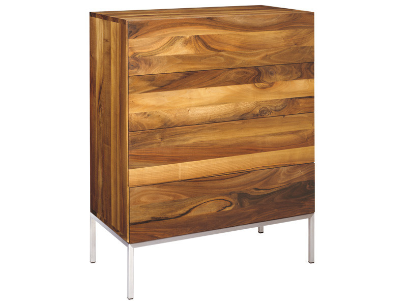 Free standing wooden chest of drawers FATIMA - e15