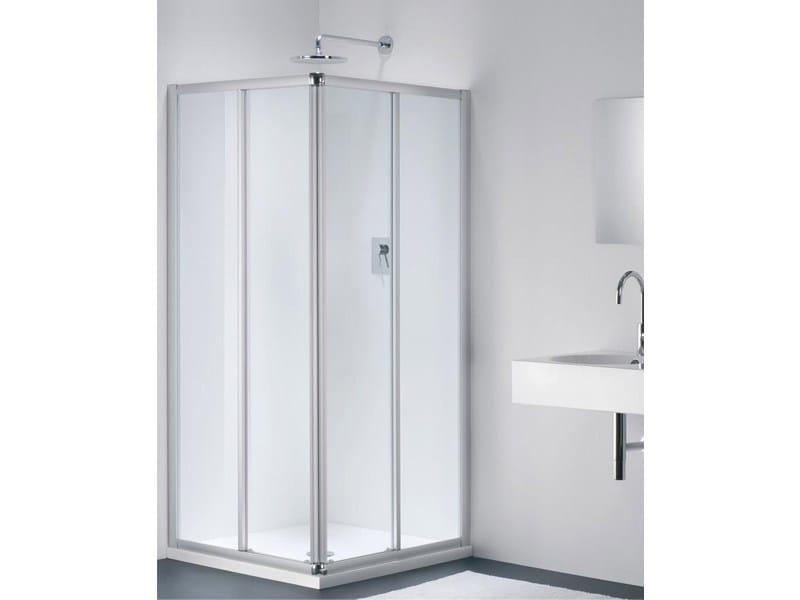 Corner glass shower cabin CLASSIC EC - Provex Industrie