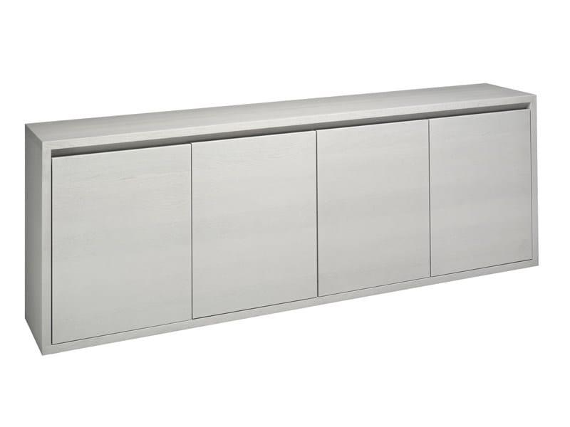 Wooden sideboard HIRADO - e15