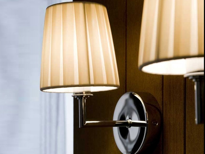 Fabric wall lamp NURA | Wall lamp - LUCENTE - Gruppo Rostirolla