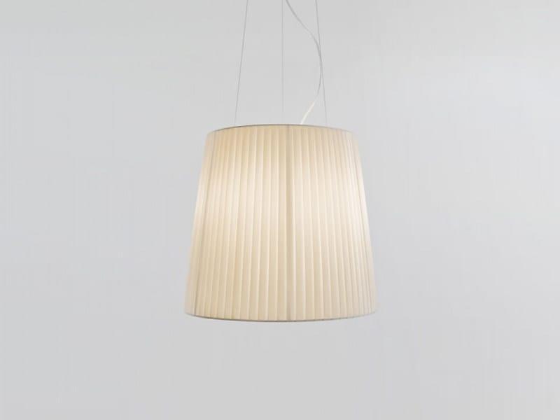 Fabric pendant lamp NURA | Pendant lamp - LUCENTE - Gruppo Rostirolla