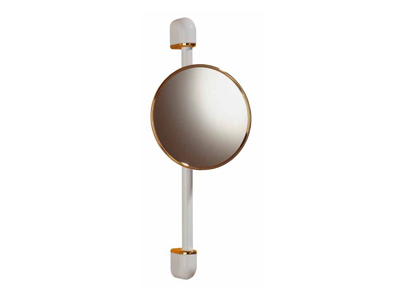 Round wall-mounted shaving mirror RELAX RA 01 - Provex Industrie