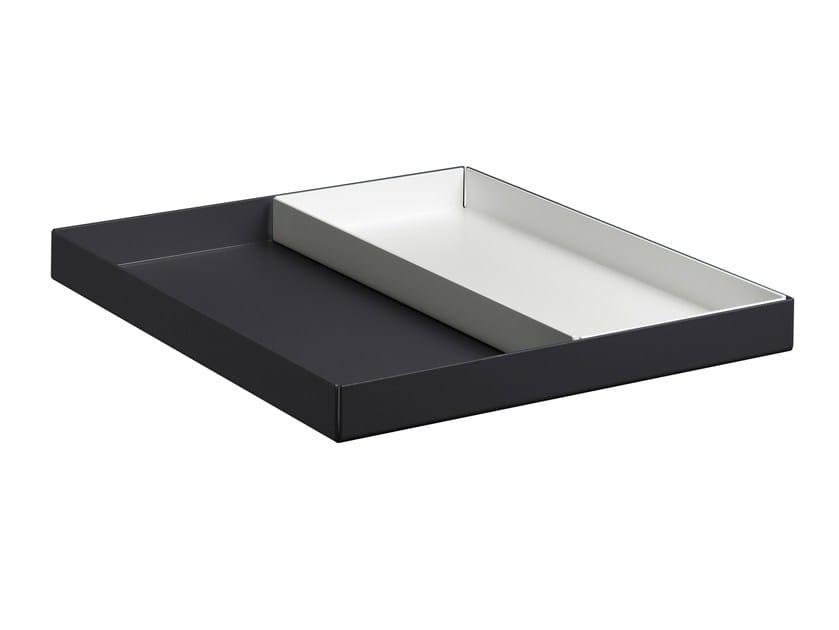 Aluminium tray ITO - e15