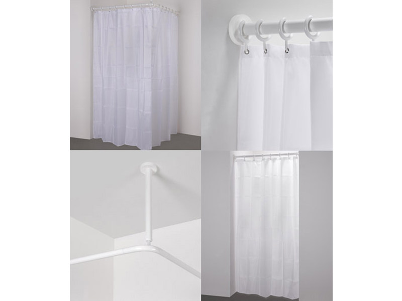 Shower curtain rod 300 VH+VN+VE+VU by Provex Industrie