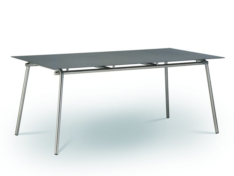 Rectangular fm-ceramtop garden table TAKU | Rectangular table - FISCHER MÖBEL
