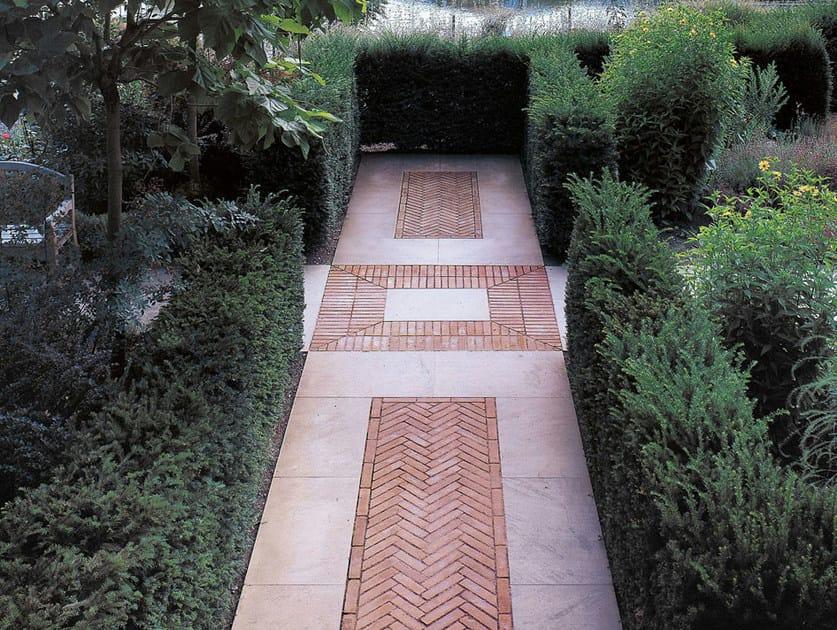 Pavimento per esterni in cotto mattoni per pavimenti fornace s anselmo - Mattoncini per esterno ...