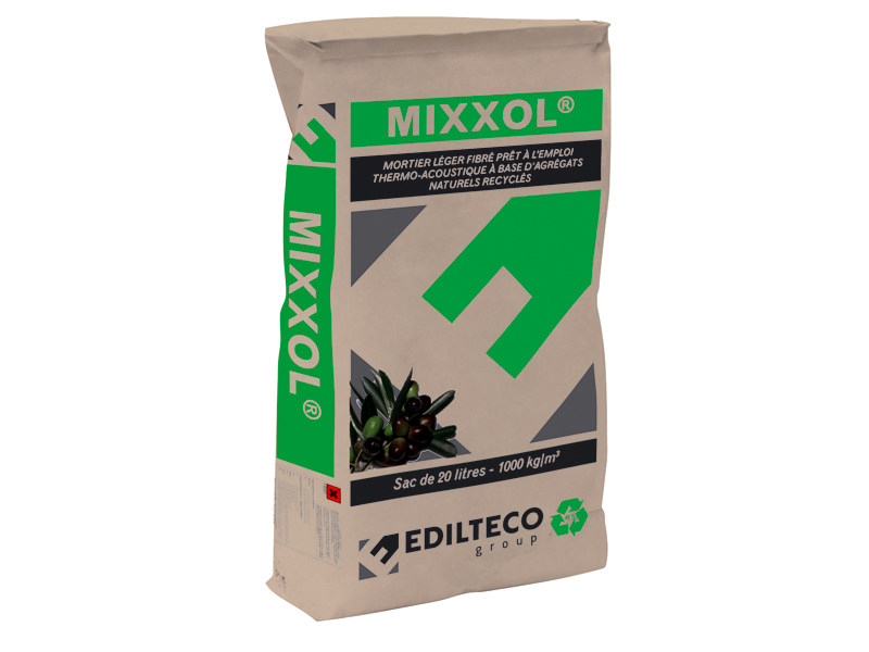 Thermo insulating mortar MIXXOL - EDILTECO