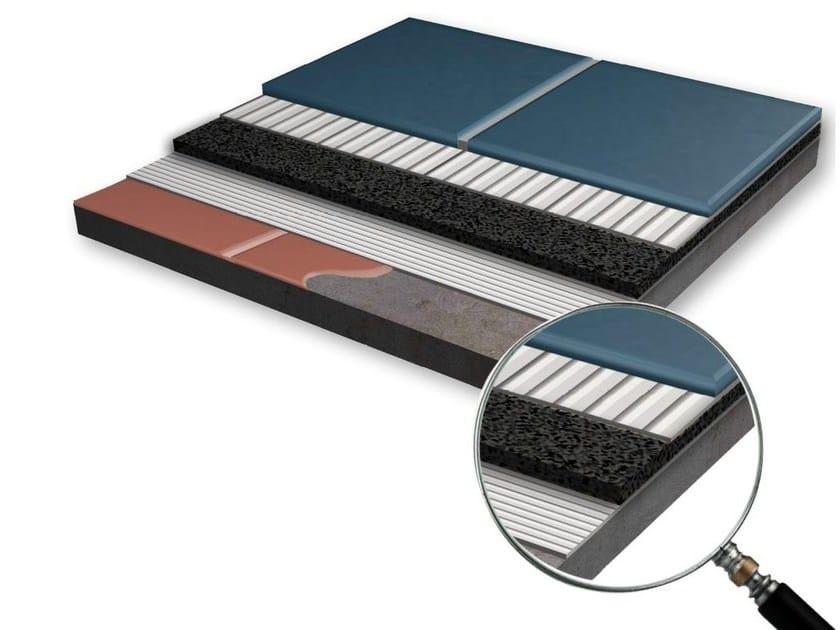 Sound insulation panel PIANO ZERO dBred by EDILTECO