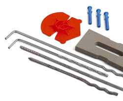 Special fixing for insulation TOOLS - FORNACE S. ANSELMO