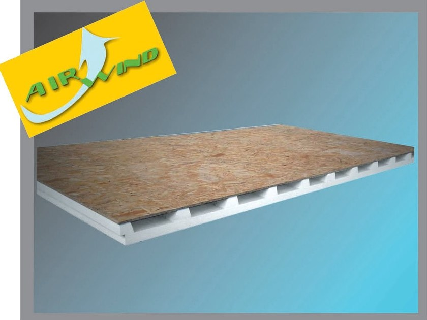 OSB ventilated roof system ECO - Thermak by MATCO