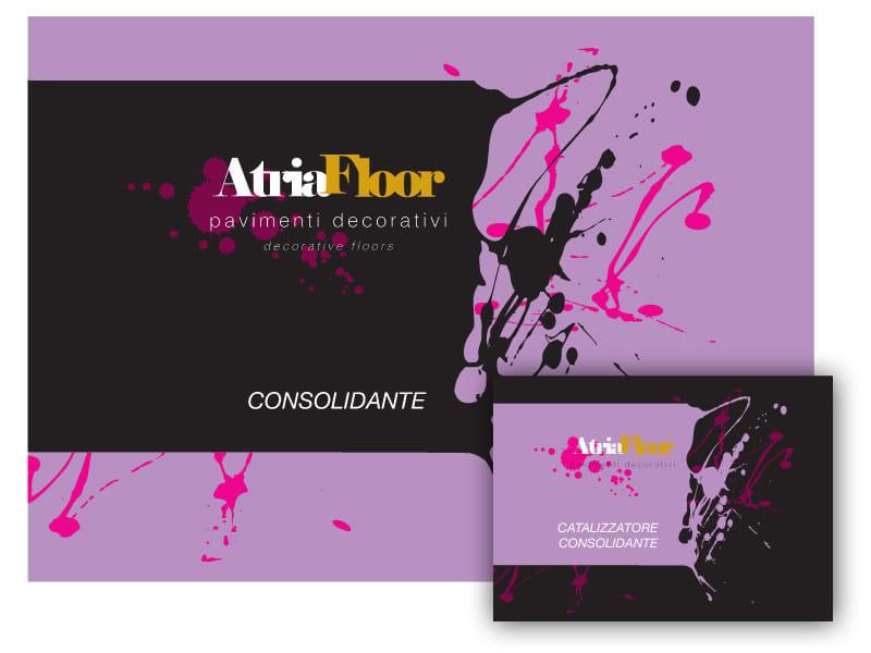 Flooring protection ATRIAFLOOR CONSOLIDANTE - COLORIFICIO ATRIA