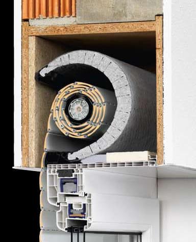 Sistema termoisolante per avvolgibili termo f termo r - Isolamento cassonetti finestre ...