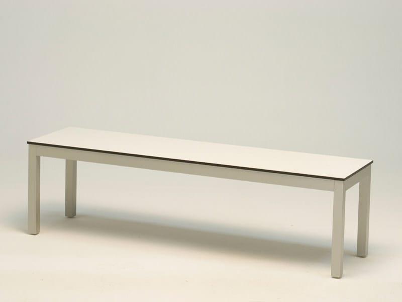 Laminate garden bench ADRIA | Laminate garden bench - FISCHER MÖBEL