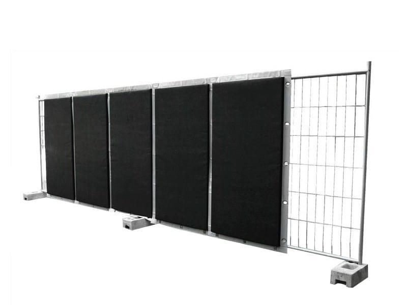Anti-noise road barrier / Road noise barrier ACUSTIKO® by SILTE