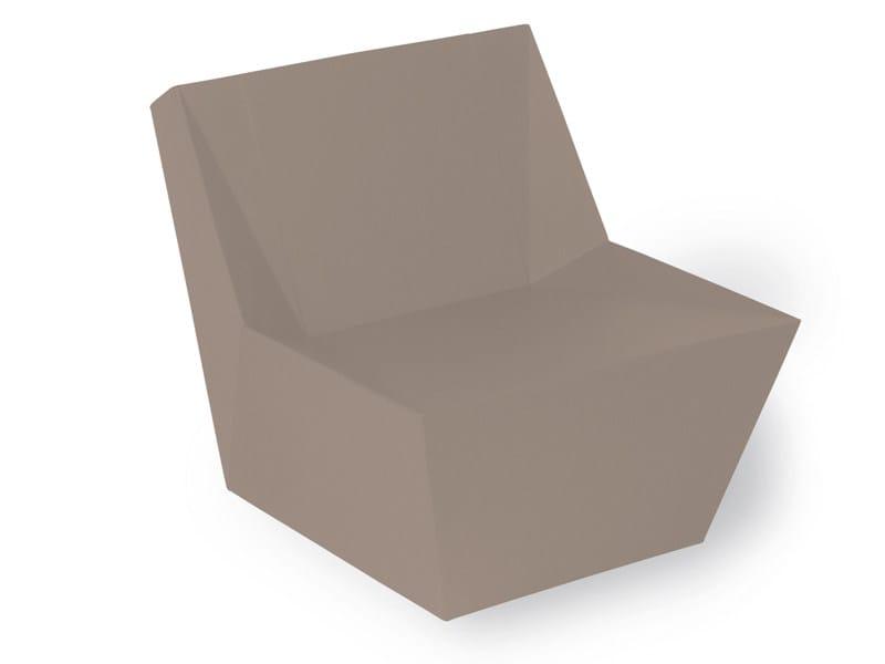 Foam garden armchair KYOTO | Garden armchair by FISCHER MÖBEL