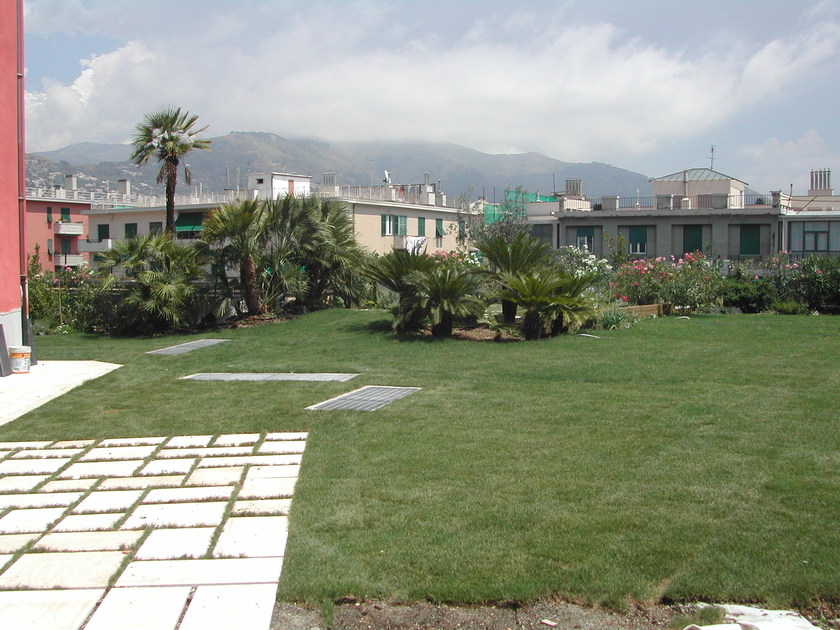 Giardini pensili perliroof intensivo perlite italiana for Realizzazione giardini pensili