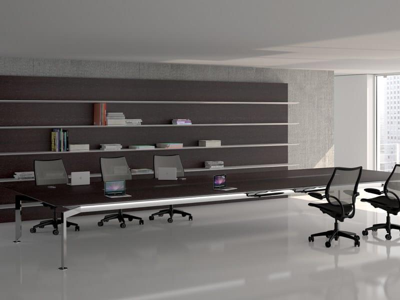 Mesa de despacho direccional nest by sacea dise o karim azzabi - Mesas despacho diseno ...