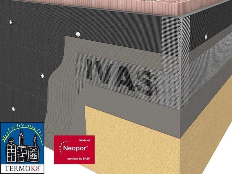 Exterior insulation system TermoK8® FONOSTOP EPS - Ivas Industria Vernici - GRUPPO IVAS