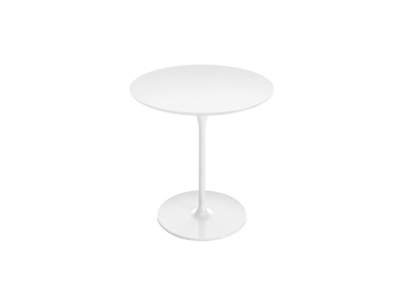 Round table DIZZIE H 74 | Round table by arper
