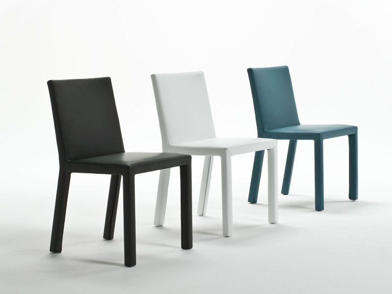 Upholstered chair TRAMA | Chair - ENRICO PELLIZZONI