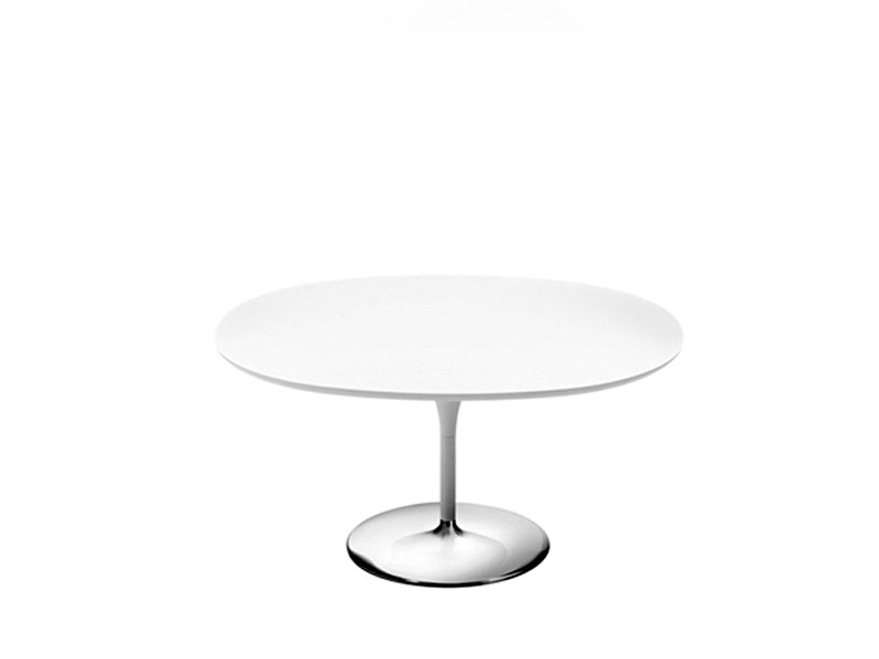 Design MDF coffee table DUNA | Oval coffee table - Arper