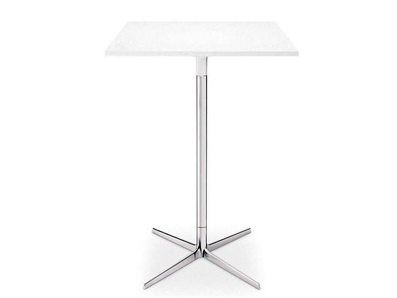 Square high table GINGER H 105 | Square table by arper