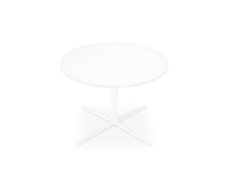 Low round coffee table GINGER H 50 | Round coffee table by arper