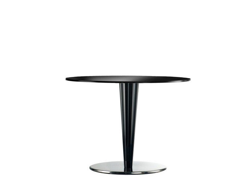 Round methacrylate table KRYSTAL | Round table - PEDRALI