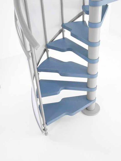 Gradini ergonomici per scala a chiocciola 2 easy fontanot - Gradini per scale a chiocciola ...