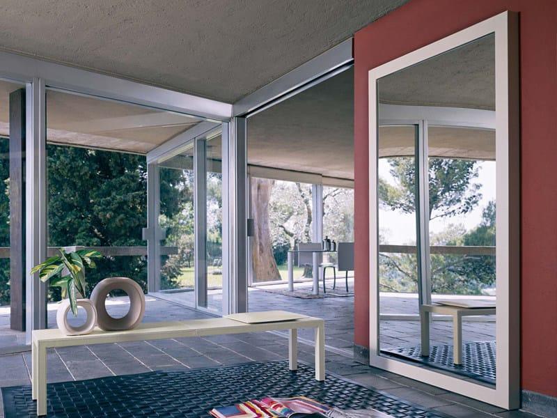 Contemporary style mirror ABACO | Mirror - ENRICO PELLIZZONI