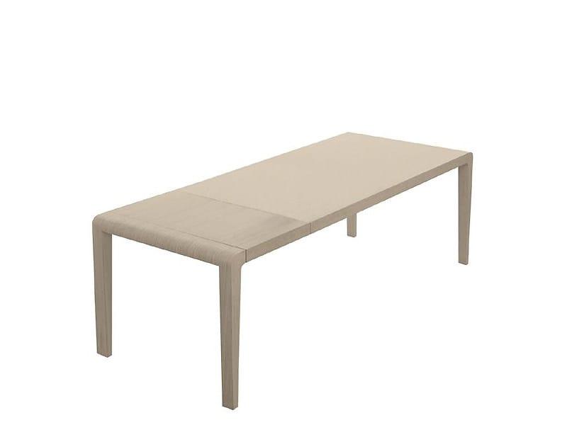 Extending rectangular table EXTESO - PEDRALI
