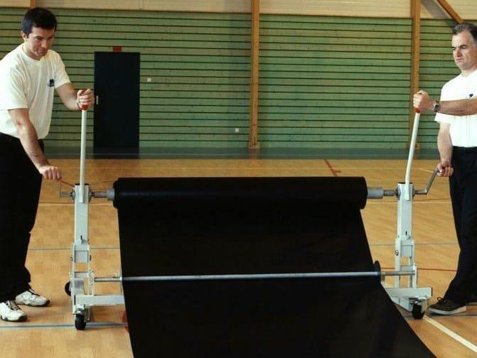 Resilient recycled material sports flooring TARAFLEX® BATECO - GERFLOR