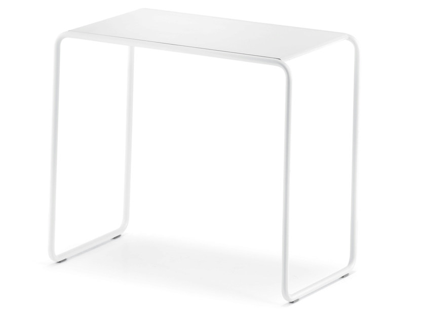 Stackable steel coffee table POCKET - PEDRALI
