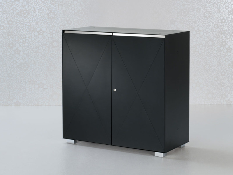 Low steel office storage unit UTILITY | Office storage unit - ENRICO PELLIZZONI