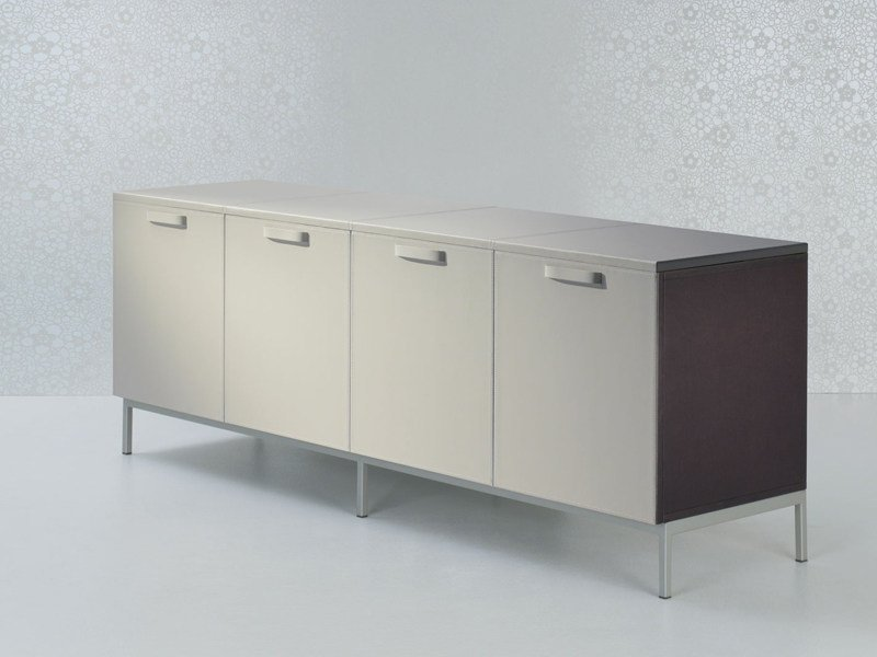 Low office storage unit VALEO | Office storage unit - ENRICO PELLIZZONI