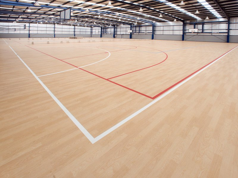 Resilient sports flooring TARAFLEX® MULTI-USE 3.0 by gerflor