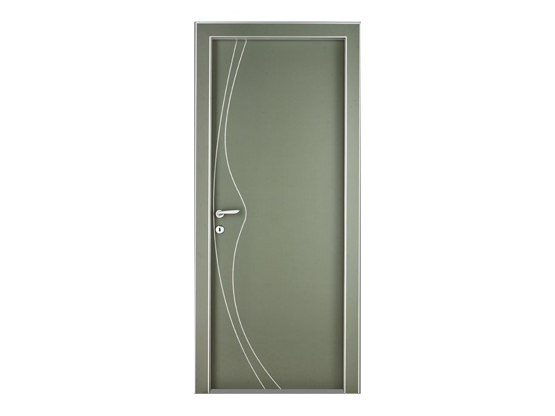 Hinged lacquered door WAVE - TORTEROLO & RE