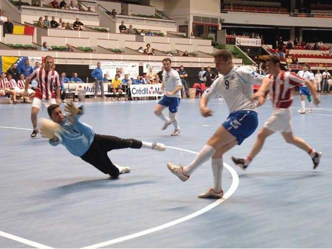 Resilient polyurethane sports flooring TARAFLEX™ FUTSAL - GERFLOR