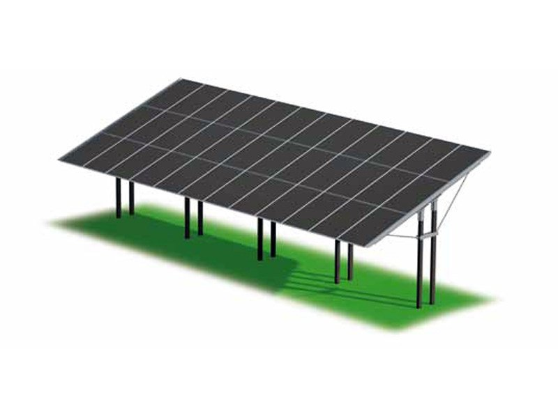 Support for photovoltaic system ZENITH PARK by STRUKTURE