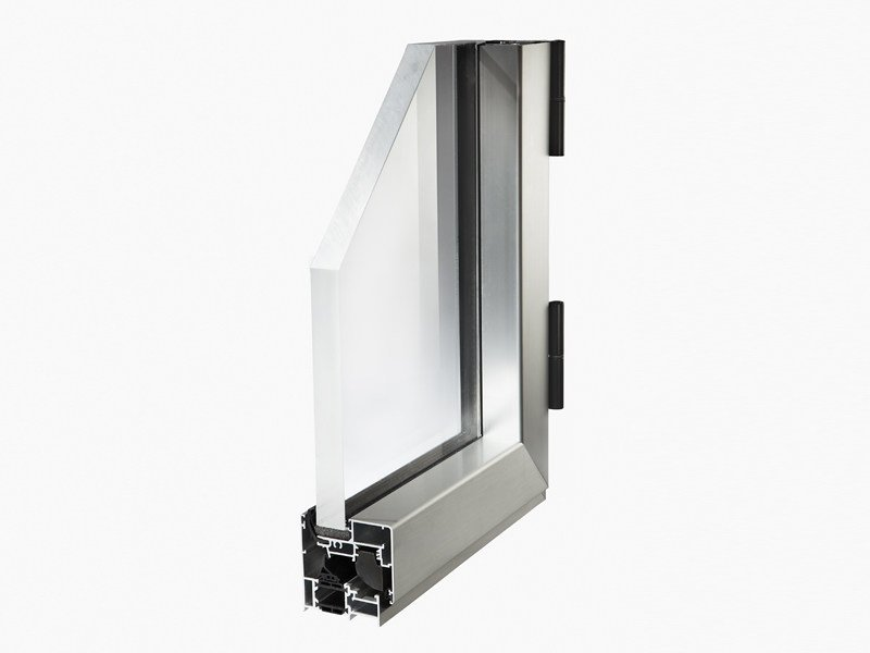 With concealed fittings window CONCEPT 65 by ALsistem