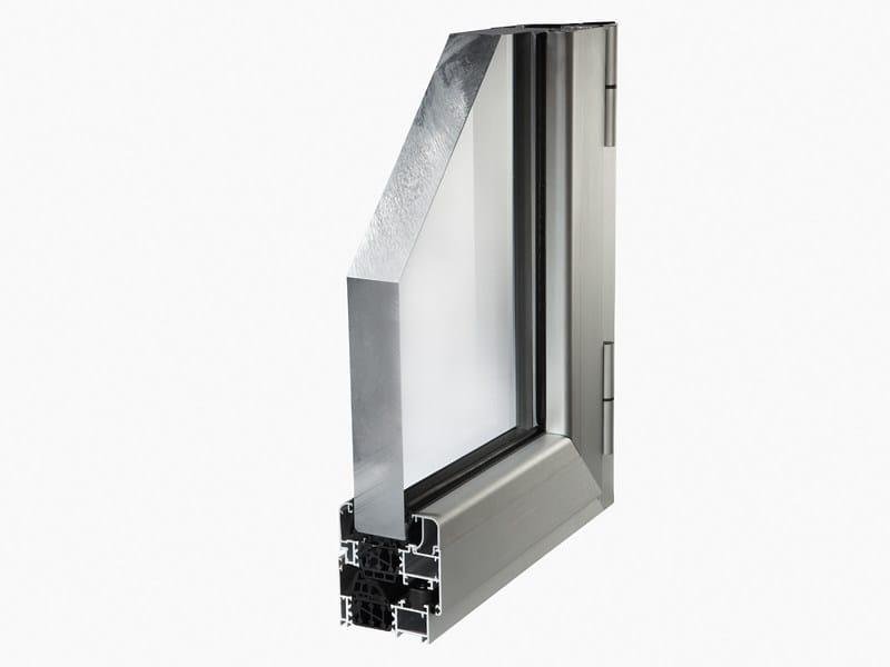 Aluminium thermal break window PLANET 72HT by ALsistem