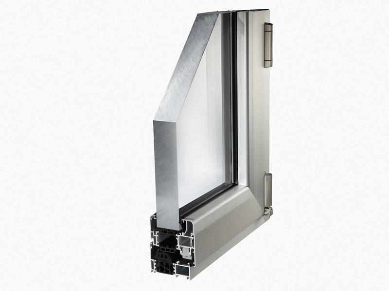 Aluminium thermal break window MATIC 72HT - ALsistem