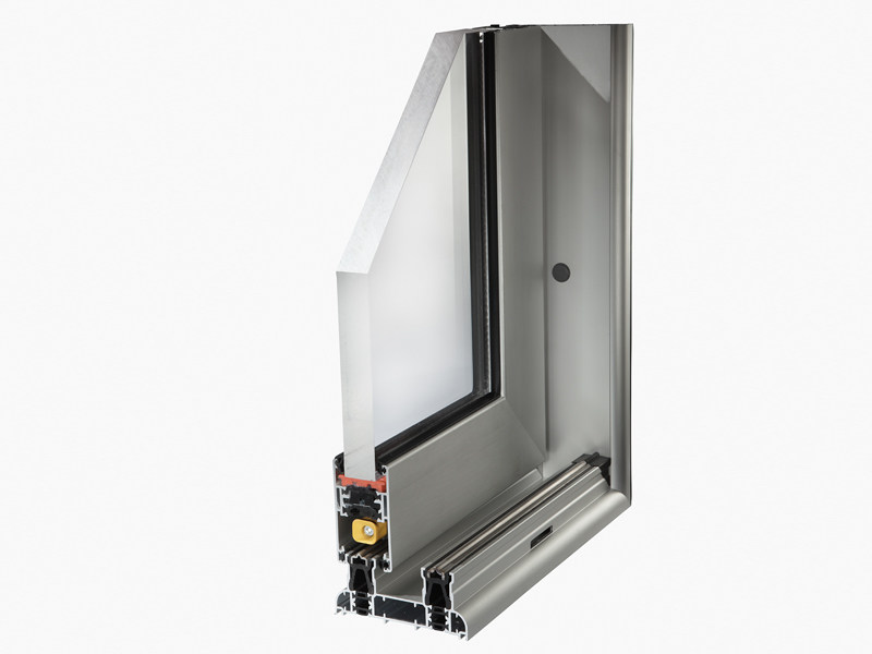 Aluminium thermal break window SLIDE 106 - ALsistem