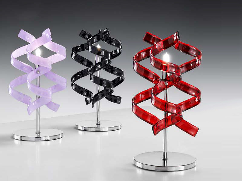 Direct light crystal table lamp ASTRO | Table lamp - Metal Lux di Baccega R. & C.