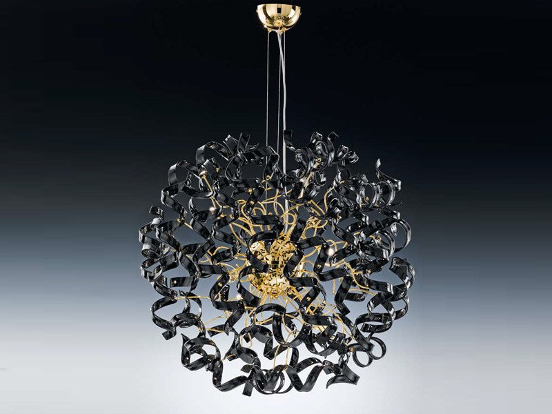 Crystal chandelier ASTRO | Chandelier by Metal Lux