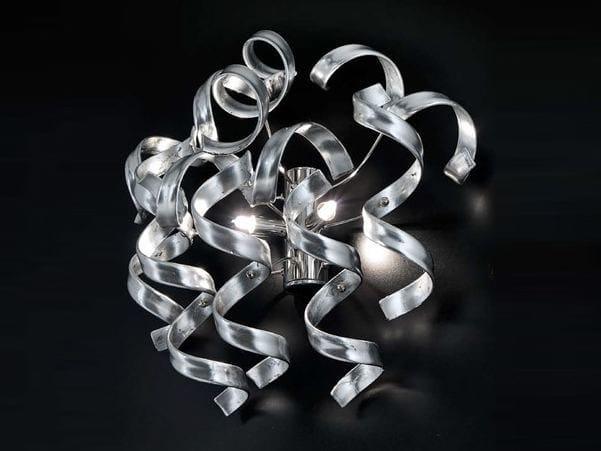 Crystal wall lamp ASTRO | Wall lamp - Metal Lux di Baccega R. & C.