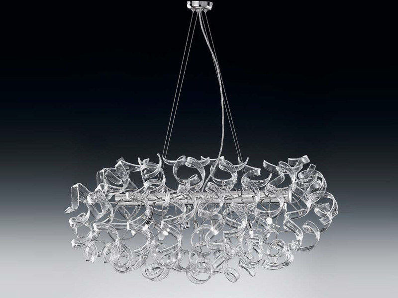 Crystal pendant lamp ASTRO | Pendant lamp by Metal Lux